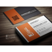 Contrasting Modern Corporate Business Card Template