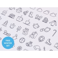 35 Free Winter Icons