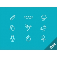 MiniCONS – 40 Free PSD Icons