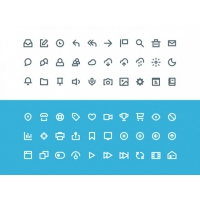 Vicons – 60 Free PSD Icons