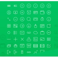 56 FREE Line Icons Download