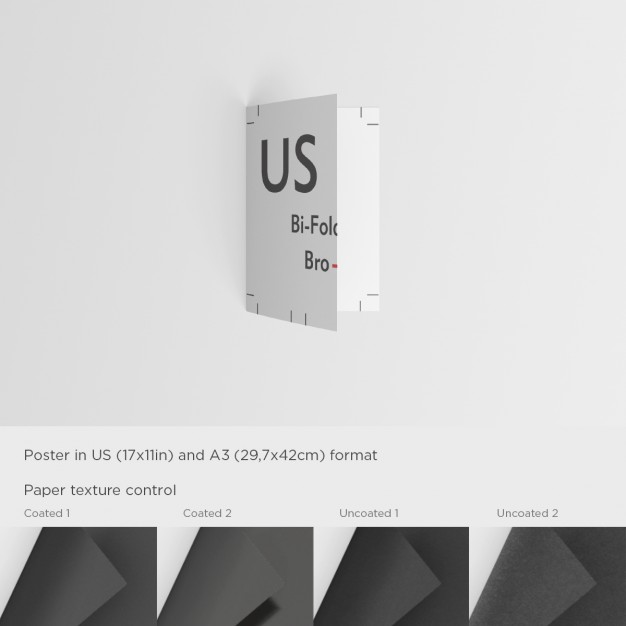 Realistic Brochure Mock Up