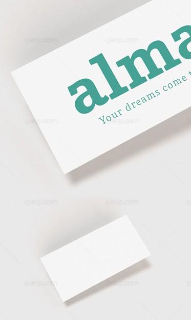 Mock Up Correspondence Card