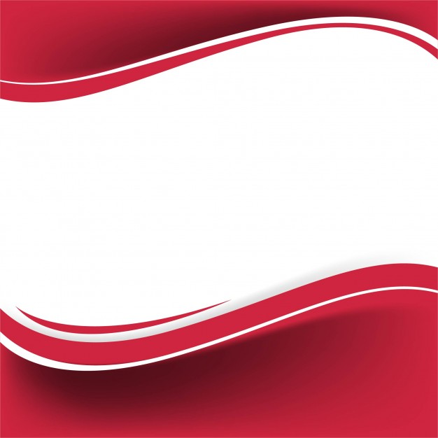 Shiny Red Wave Background