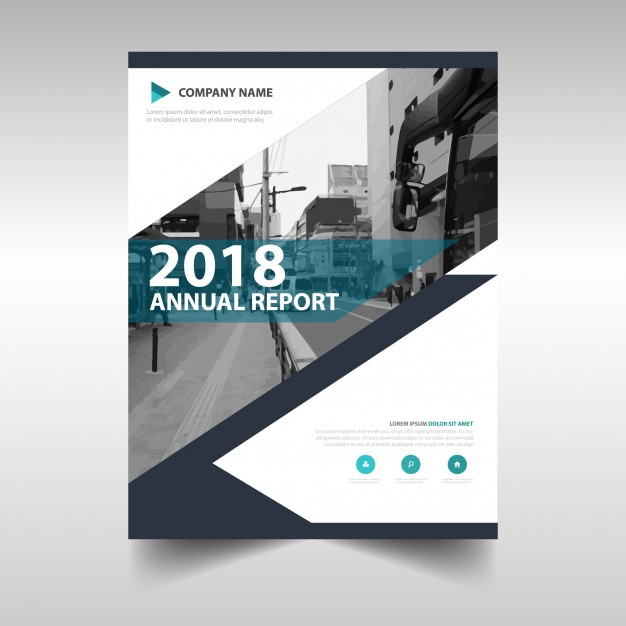 Creative Annual Report Book Cover Template