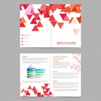 Layout Magazine Modern Background Abstract
