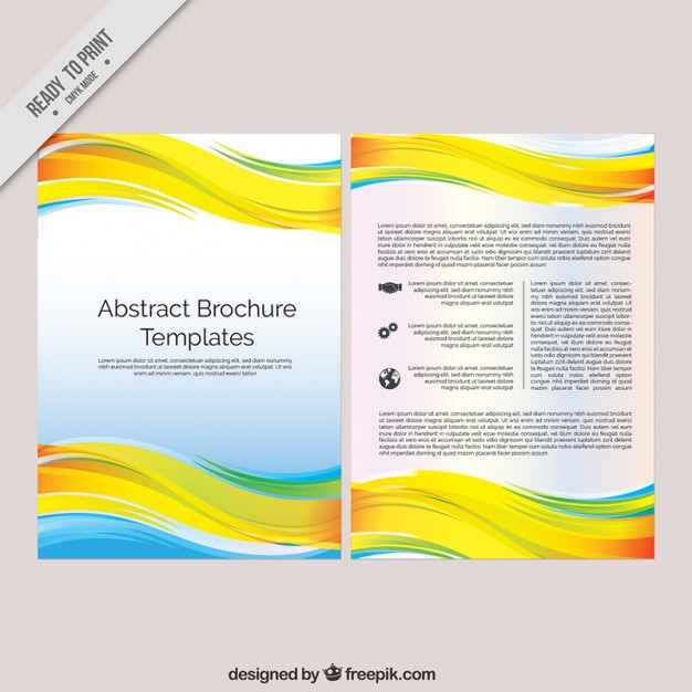 Abstract Brochure