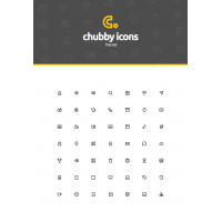 Chubby Icons Free Set