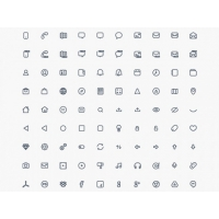 Compacticons – 180 PSD Tiny Icons