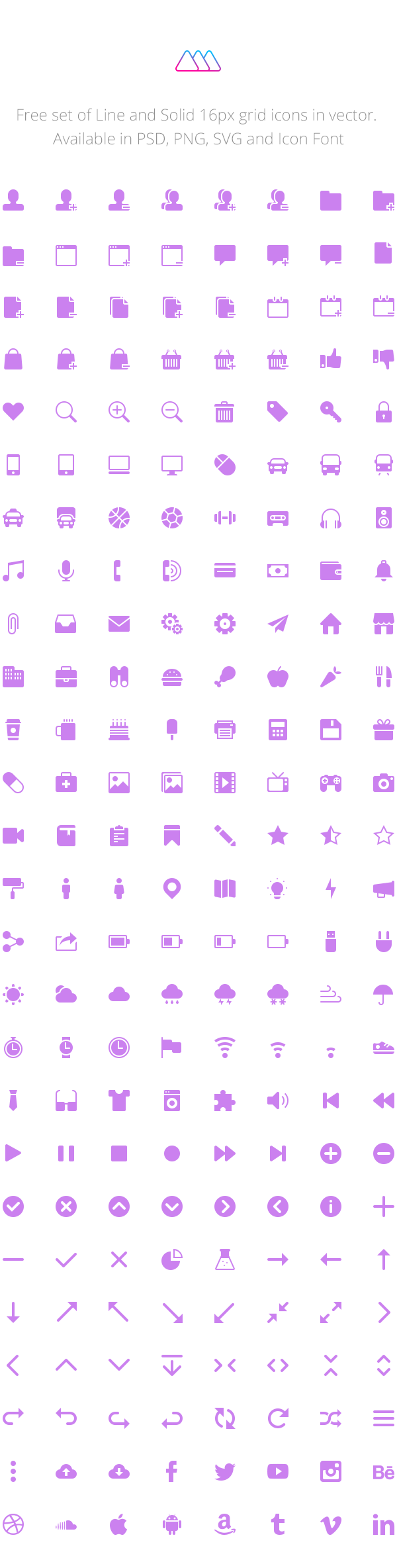 210 Free Solid Icons