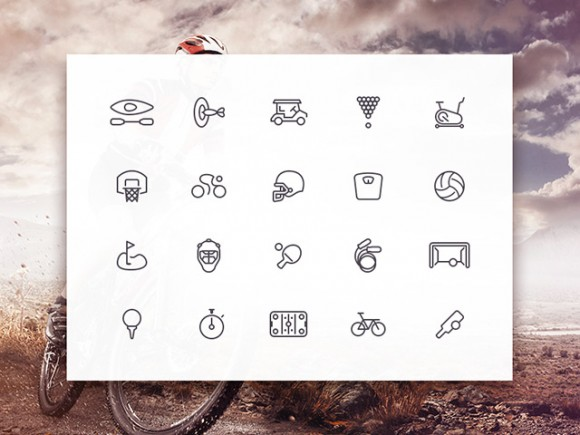 Sporties Icon Set