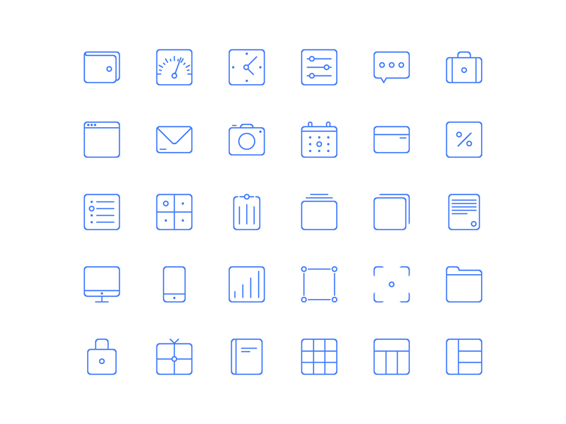 Sunday Set Free Vector Icons