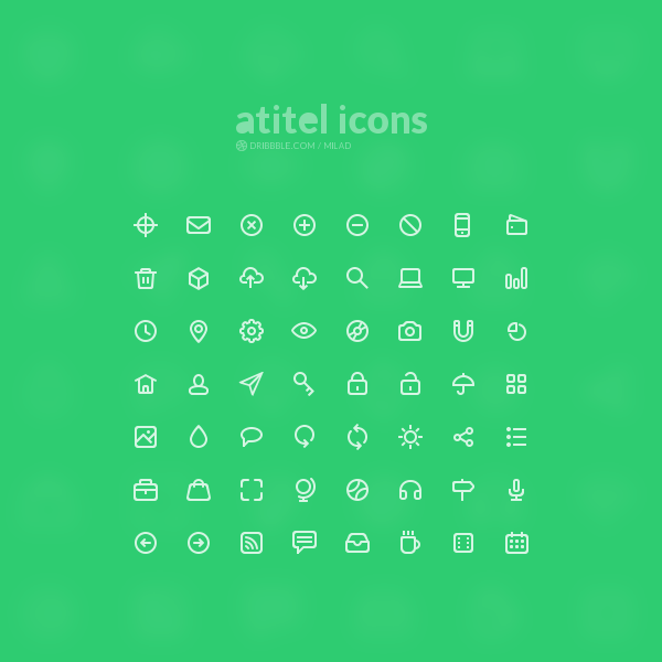 Free 56 High-Quality Icons
