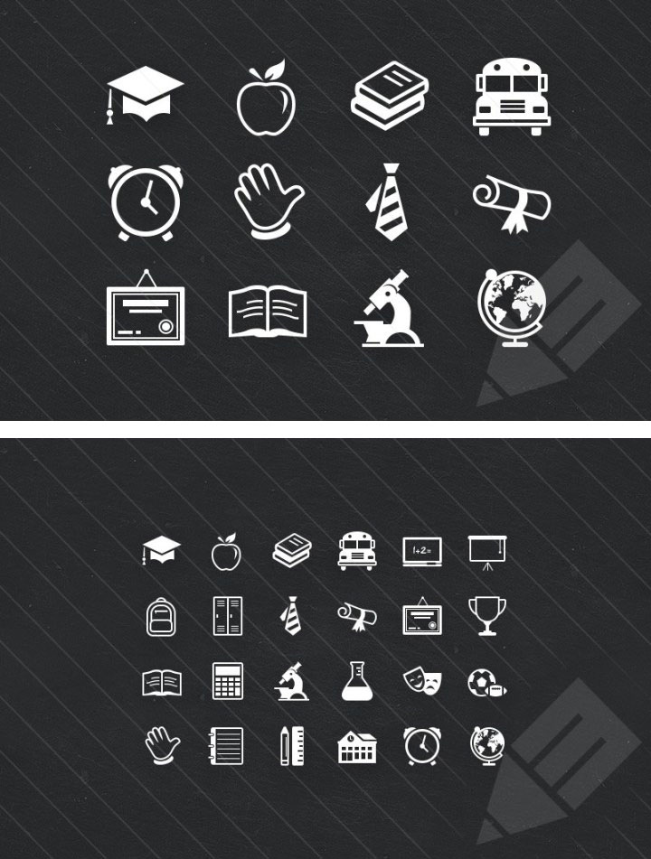 Educate Icon Set