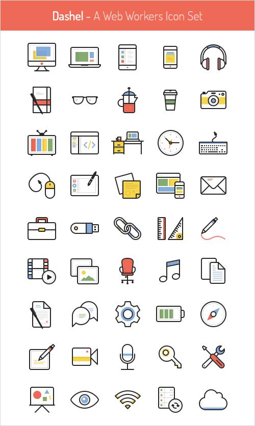 45 Icon Set