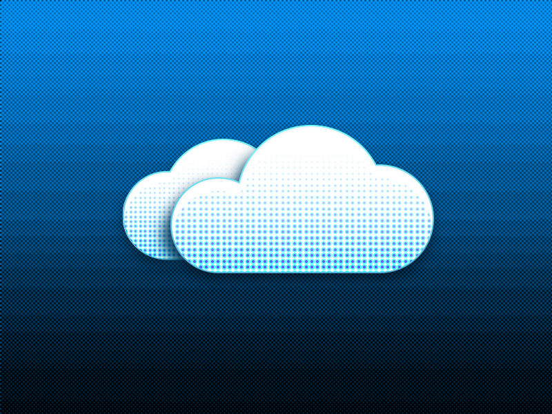 Halftone Cloud