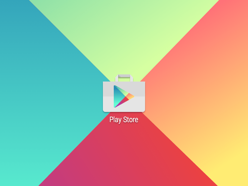 Google Play Store Icon Sketch Freebie