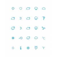Free Awesome Weather Icons