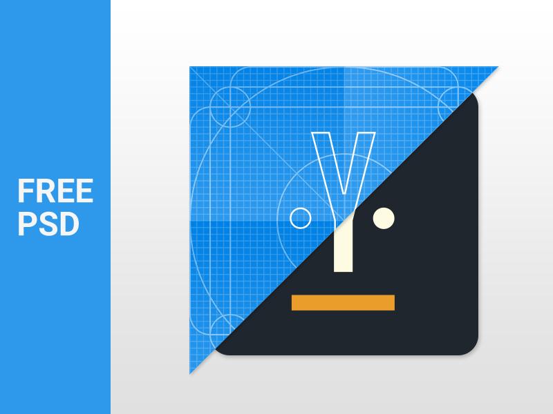 Material Design Icon Template