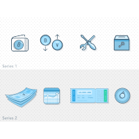 Bitcoin Bank Icons Sketch Freebie