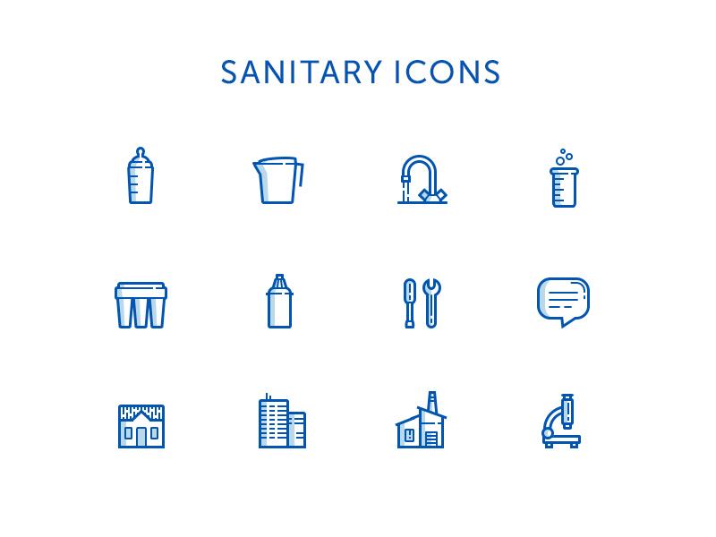 Sanitary Icons