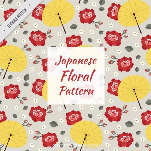 Japanese Floral Pattern