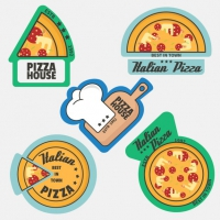 Pizza Logo Collection