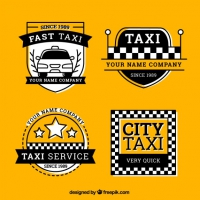 Pack Of Taxi Labels