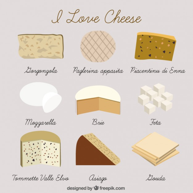 Hand Drawn Kind Of Cheese