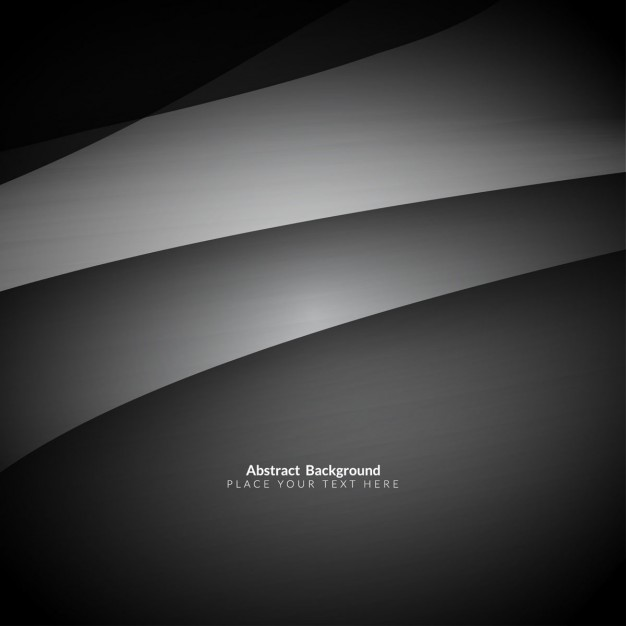 Grey Color Stylish Waves Background