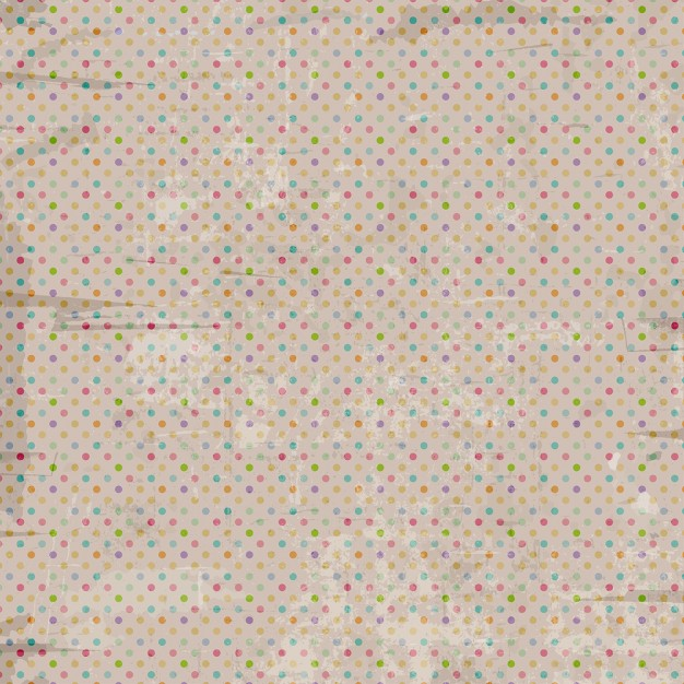 colored Dot Vintage Background
