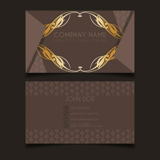 Luxury Vintage Business Card