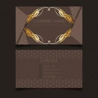 Luxury Vintage Business Card