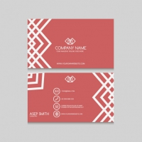 Ornamental Lines Business Card