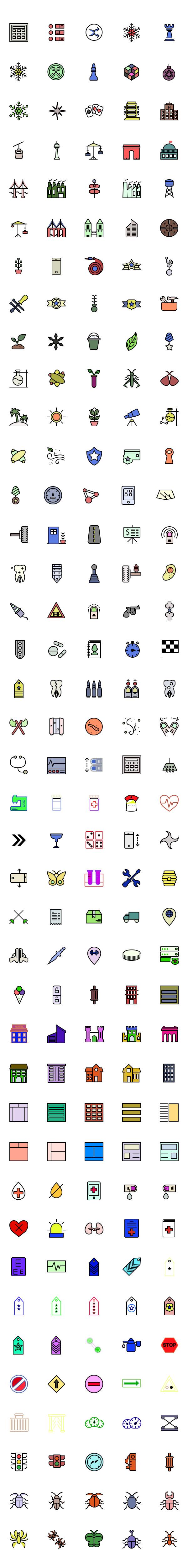 RetinaIcon: 200 Free Icons