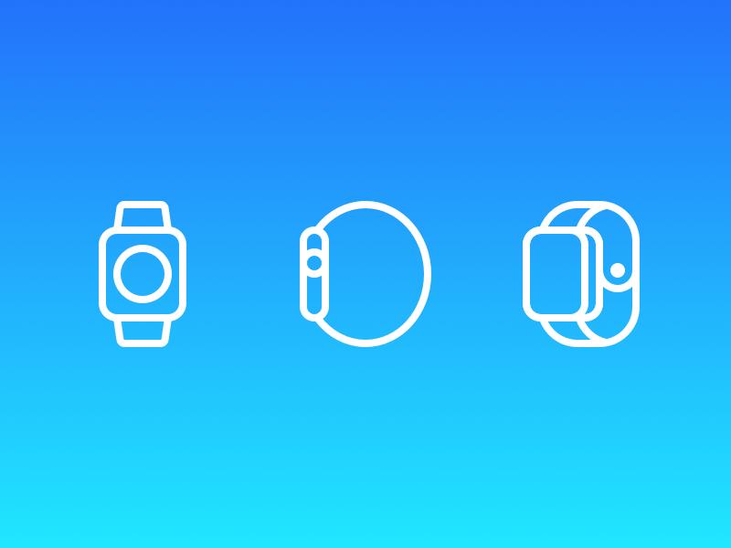 Apple Watch Illustrations