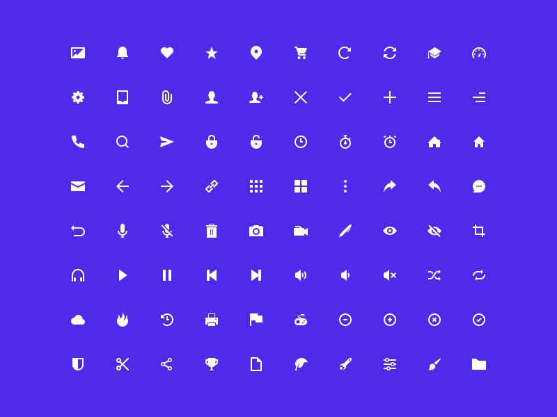 Geoph 80 Icons