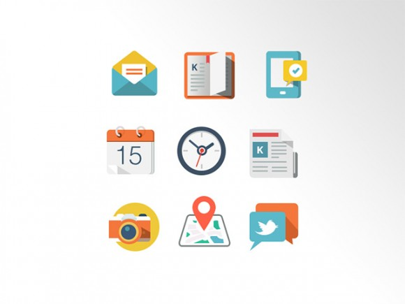Grap – 9 Free Coloured Icons