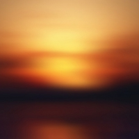 Beautiful Sunset Blur Background