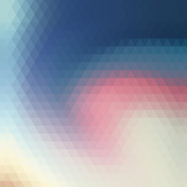 Colored Triangles Swirl Background