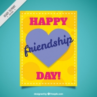 Yellow Card Of Friendship Day