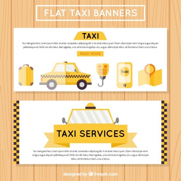 Useful Taxi Banners 2