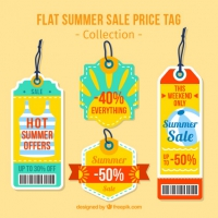Cute Summer Discount Tags