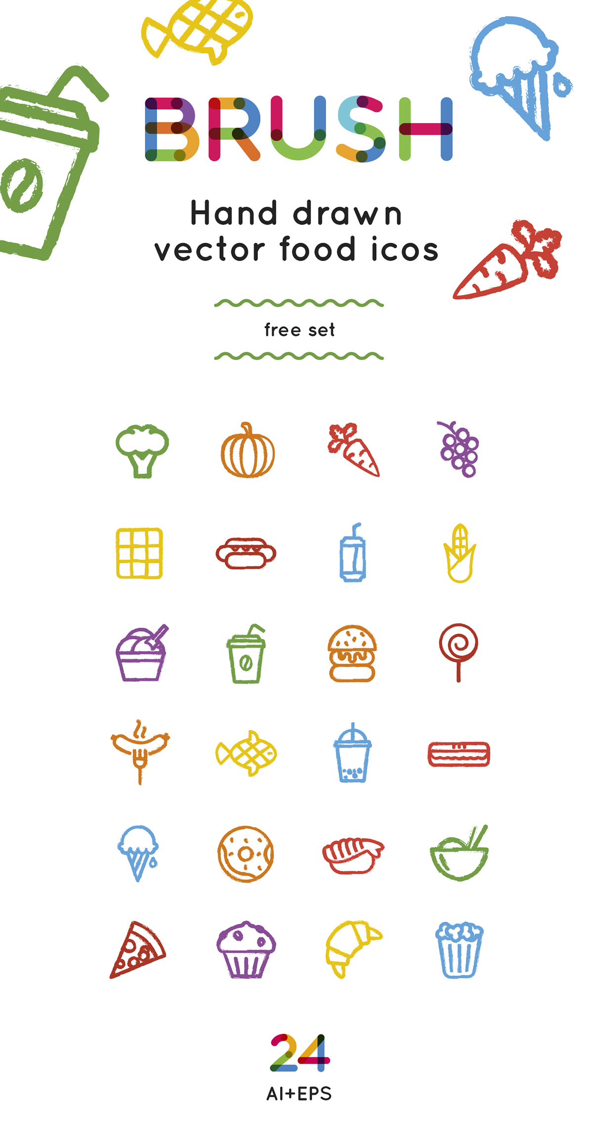 Food Icons Free