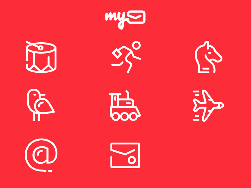 MyMail Game Icons
