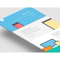Perth – Flat Website Template