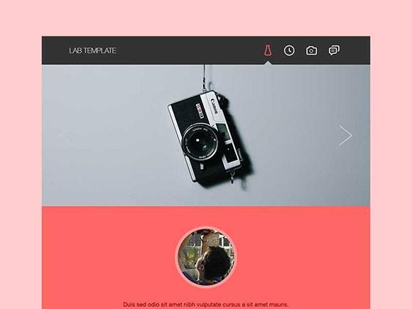Lab – Free Portfolio Template