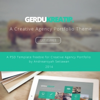 GerduKreatip: Agency Portfolio Theme