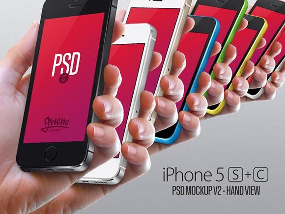 iPhone 5S & 5C Mockup Set