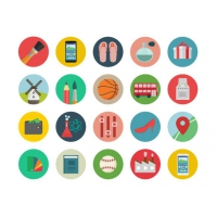 60 Stylish Round Icons – Meet The Roundicons
